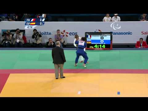Judo - Women -57 kg Bronze Medal Contest A - 2012 London Paralympic Games