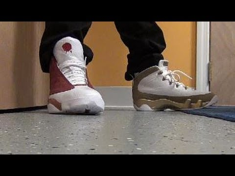 Air Jordan Bin23 9 VS 13 Shoes W/ @DjDelz #PickOne The Sneaker Addict Dj Delz