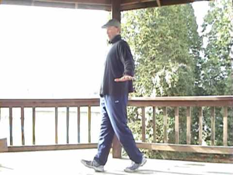 Balance Exercise:  Super Slow Motion Walking