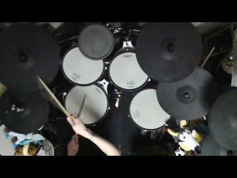進撃の巨人OP1 «紅蓮の弓矢» drum cover by翔