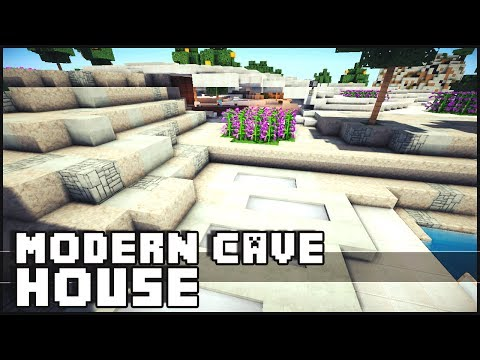 Minecraft Epic Modern Cave House