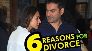 6 REASONS : Arbaaz - Malaika heading for DIVORCE