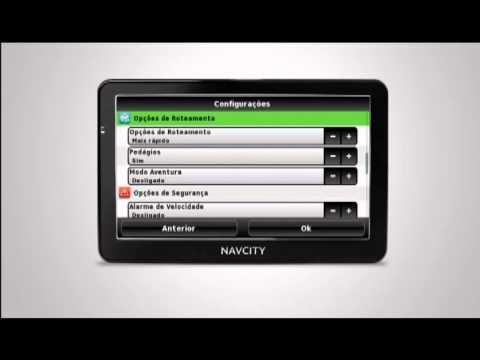 Como Traçar uma Rota no GPS NavCity - Rota Certa