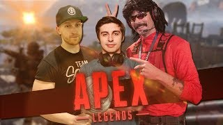 Shroud being Cocky | Apex Squads with Shroud, Viss & DrDisrespect