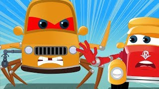 Spider Car | Super Car Royce | Cartoon Videos For Babies by Kids Channel