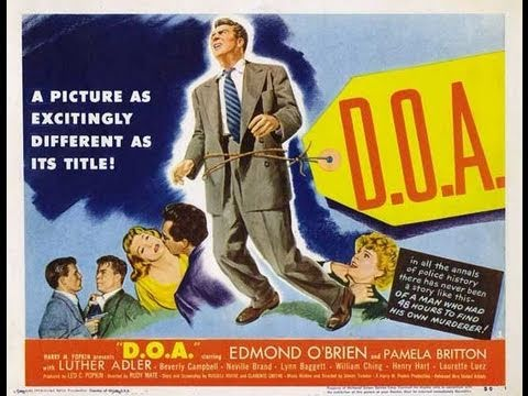CON LAS HORAS CONTADAS (D.O.A., 1950, Full Movie, Spanish, Cinetel)