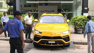 Lamborghini SUV Urus Delivery in INDIA - 4th Urus from Lambo Bengaluru