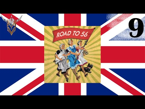 Allied United Kingdom | Road to 56 | Hearts of Iron IV | 9