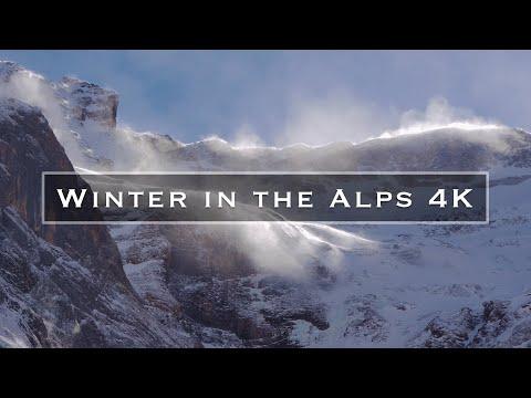 Winter in the Alps 4K