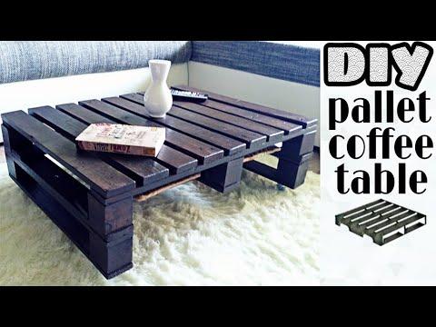DIY - pallet coffee table