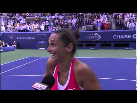 Pers Conference In Tennis court | Roberta Vinci vs Serena William | US OPEN 2015