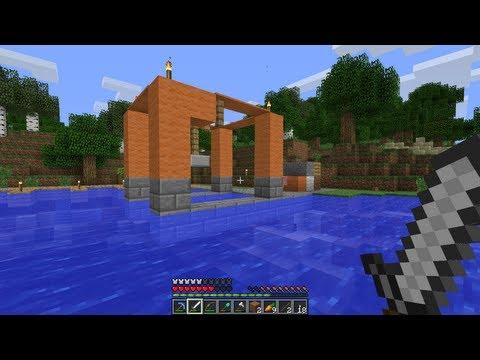 Minecraft Ep. 25 -Port Gantry Crane