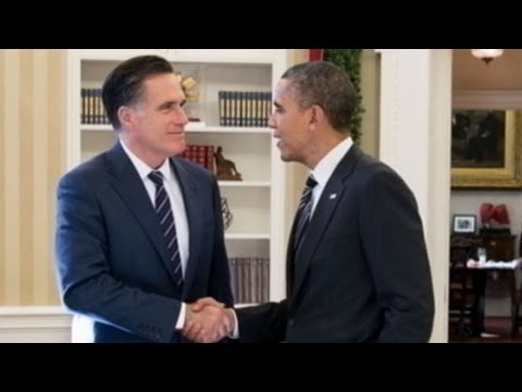 Mitt Romney, President Obama's Private Lunch at the White House