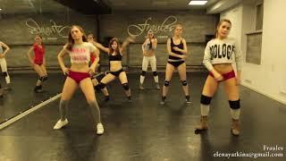 NEW twerk choreo by DHQ Fraules   Travis Porter 'Bring it back' mp4