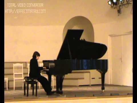 Лист Ференц - Прелюдия и фуга (И.С. Бах) (ми минор)