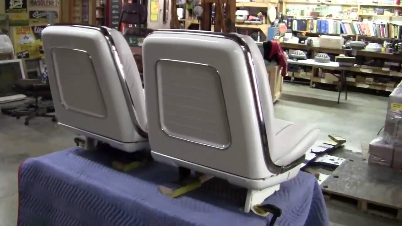 2010 Chevy Impala For Sale >> 1961 Bucket Seats 61 Pontiac GM Cadillac Impala ventura - YouTube