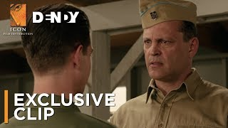 HACKSAW RIDGE - Luke Bracey introduces Vince Vaughn clip - IN CINEMAS NOW