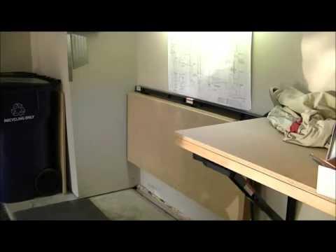 woodworking bench overhang