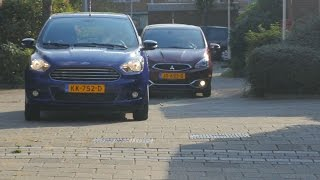 ANWB Dubbeltest Ford KA+ vs. Mitsubishi Space Star 2016