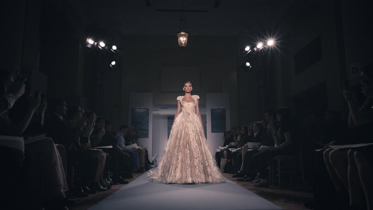 Mark Zunino Bridal Fashion NYC Runway Fall 2015 - YouTube