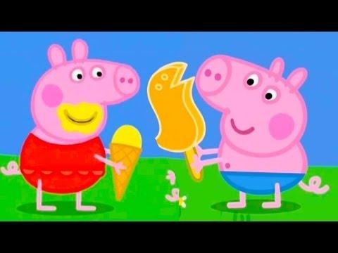 Свинка Пеппа - У Джорджа Мороженное Динозавр