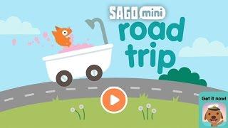 Jinja Loves to drive in funny vehicles in Sago Mini Road Trip