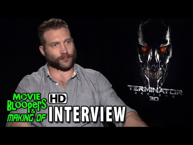 Terminator Genisys (2015) Official Movie Interview - Jai Courtney