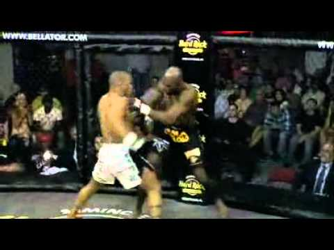 Bellator 24 Highlight: Hector Lombard KOs Herbert Goodman in 38 Seconds