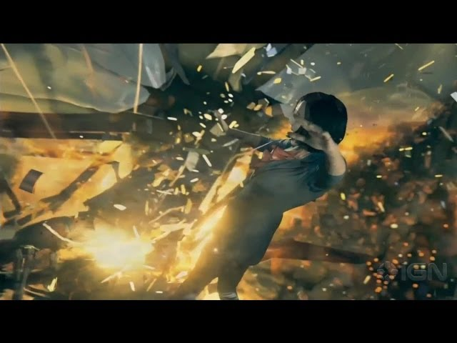 Quantum Break Gameplay Demo - E3 2013 Microsoft Conference