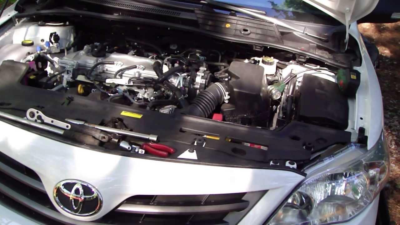 How to change headlight bulbs Toyota Corolla. Years 2008 ...