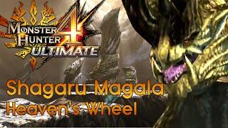 [MH4U] Monster Hunter 4 Ultimate -  Low Rank Urgent Quest - Heaven's Wheel - Shagaru Magala