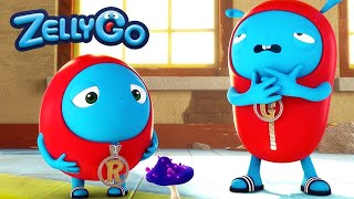 ZellyGo - Poisonous Mushroom 1 | HD Full Episodes | Funny Cartoons for Children | Cartoons for Kids