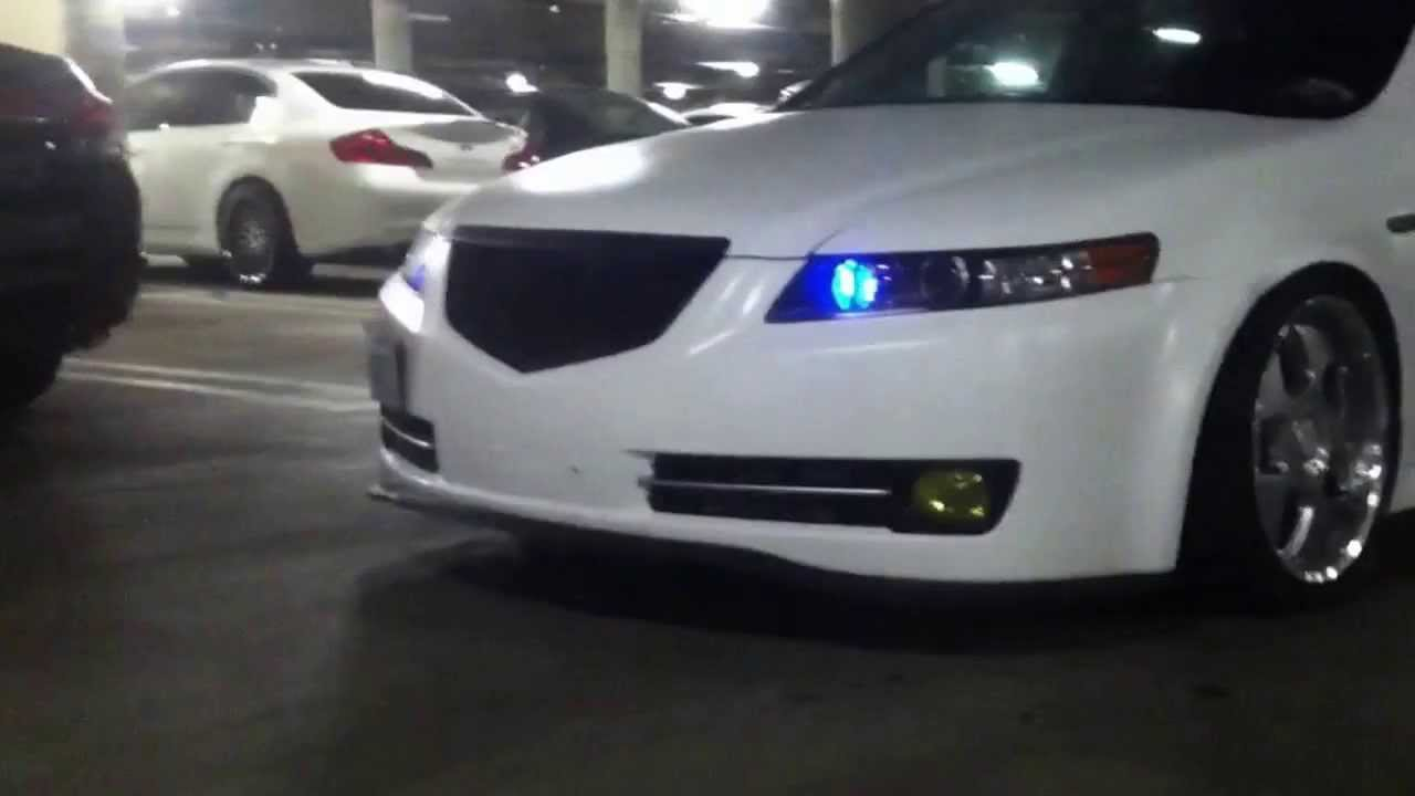 Plasti Dip Emblems >> 2007 Acura TL type S matte white update 2 - YouTube