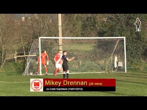 Goal: Mikey Drennan (2nd vs Cobh Ramblers 19/01/2019)