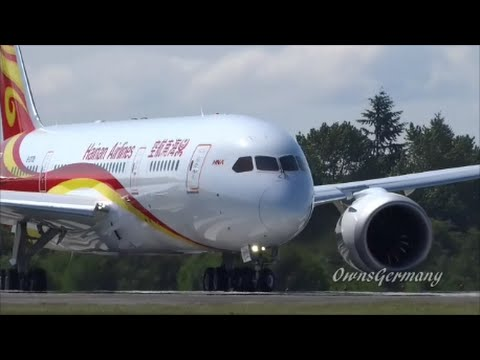 Hainan Airlines Boeing 787 Dreamliner Delivery Flight @ KPAE Paine Field