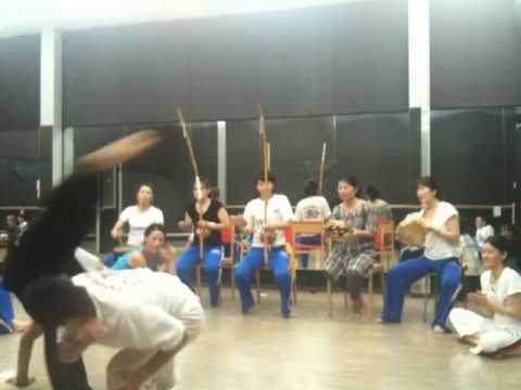 Capoeira Lagoa do Abaeté Japão-2010.08.11- Video