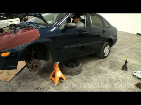 Acura Repair on 2002 Ford Focus Clutch Replacement Video  Part 4    Ericthecarguy