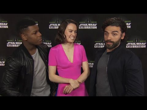 John Boyega, Daisy Ridley & Oscar Isaac Talk Power Of Star Wars At Star Wars Celebration