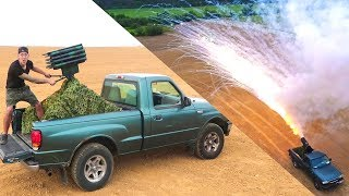 MY 4TH OF JULY MISSILE TRUCK!! 3,840 Rockets!
