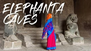 2 Minute Daily Travel Vlog || India - Elephanta Caves