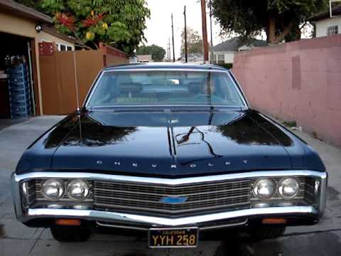 1969 Chevy Impala New Paint Job Youtube