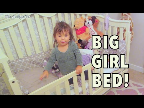 Julianna in her TODDLER BED! - September 15, 2014 - itsJudysLife Daily Vlog