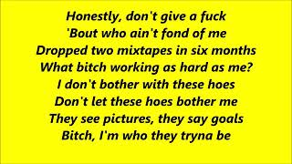 Cardi B - Bodak Yellow (Lyrics)