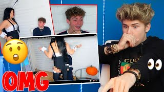14 YEAR OLD TRIES ON ADULT HALLOWEEN COSTUMES FOR PROTECTIVE BOYFRIEND!