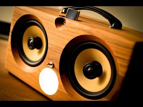 PONO PLAYER SPEAKERS. Neil Young Ready Audiophile Wireless Speakers Boombox aptX™ Bluetooth