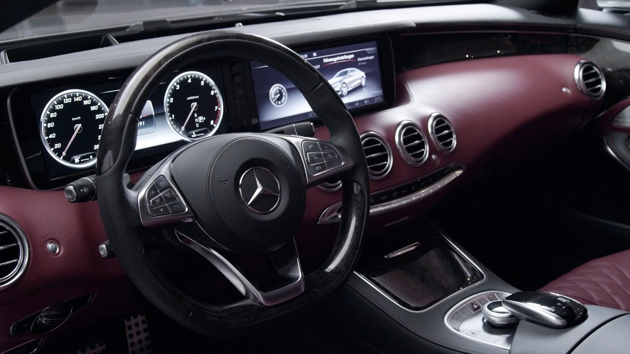 2015 mercedes s class coupe interior youtube for Mercedes s interieur