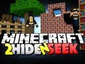 Minecraft Hide and Seek 2 - THE RUNNING BOOKSHELF!! (Jerome, Husky and Bodil40)