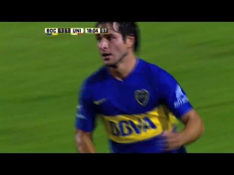 Sobre el final, Tevez le dio la victoria a Boca ante Unión en la Bombonera