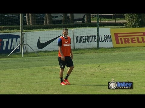 GOL REAL AUDIO ALLENAMENTO INTER 23 09 2013