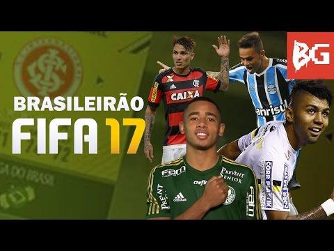 BRASILEIRÃO NO FIFA 17